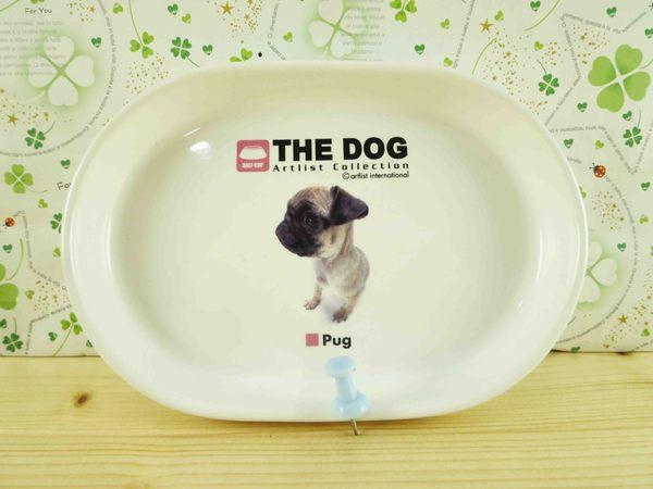 【震撼精品百貨】新大頭狗_The Dog~瓷盤-巴哥
