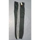 加大碼厚刷毛束口運動休閒長褲【705-1】抽繩設計 束口褲管-深灰色 三白線後有口袋雙邊口袋拉鏈