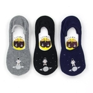 日本河馬宇宙飛行士刺繍棉質短襪~夏綠蒂didi-shop