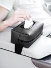 紙巾盒 車載紙巾盒多功能車內裝飾創意扶手箱車用抽紙盒汽車用品大全座式 晶彩