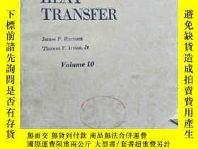 二手書博民逛書店Advances罕見in HEAT TRANSFER Volum