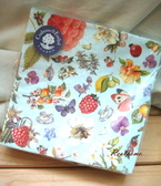 *禎的家*Crabtree&Evelyn 瑰珀翠~春彩鳥語花香餐巾紙 ~限量發售