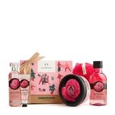 【南紡購物中心】【THE BODY SHOP】英皇玫瑰嫩膚經典原裝禮盒