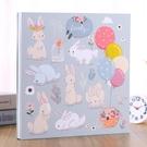 兒童寶寶成長紀念冊記錄冊diy相冊本大容量自粘貼式覆膜相冊影集一米