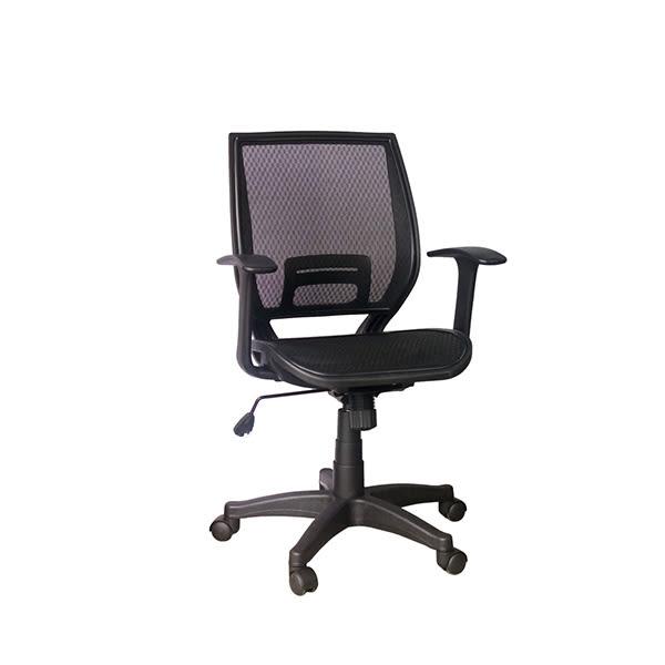 【YUDA】HT-024B 全網椅 黑  辦公椅/電腦椅