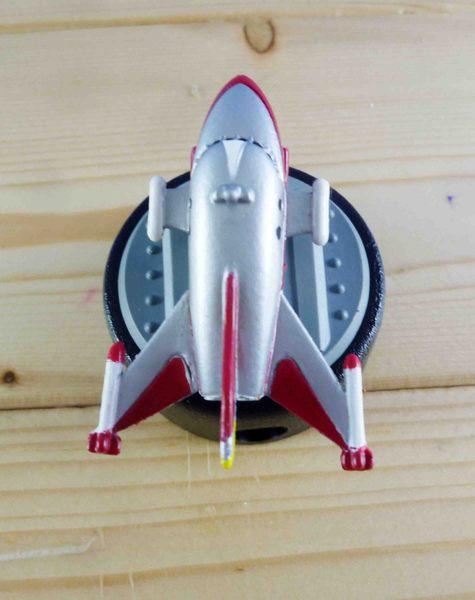 【震撼精品百貨】Ultraman 鹹蛋超人~銷筆器-紅飛機