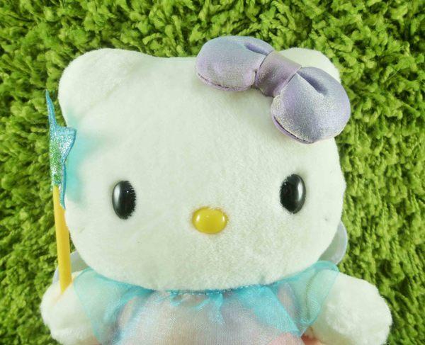 【震撼精品百貨】Hello Kitty 凱蒂貓~KITTY絨毛娃娃-彩虹仙子造型-M