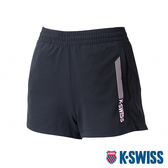 K-SWISS Woven Shorts 4 運動短褲-女-黑