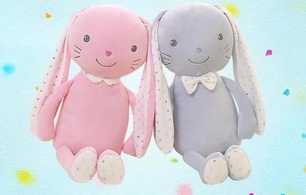 【100公分】長耳朵兔子娃娃 安撫兔玩偶 絨毛娃娃 情侶兔 聖誕節交換禮物 餐廳布置 生日禮物