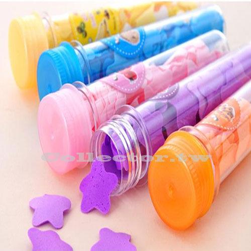 試管裝旅行外出用紙香皂 香皂花 便攜香皂紙 玫瑰肥皂紙 肥皂 沐浴片