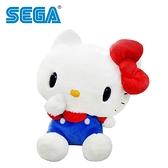 【正版授權】凱蒂貓 絨毛玩偶 34cm 娃娃 玩偶 Hello Kitty 三麗鷗 SEGA - 479786