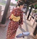 日系改良和服女浴袍衣外套寫真【步行者戶外...