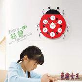 掛鐘 創意卡通掛鐘現代客廳鐘表兒童時鐘時尚簡約掛表臥室 AW14694【花貓女王】