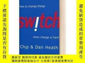 二手書博民逛書店英文原版罕見Switch 瞬變:讓改變輕松起來的9個方法Y21066 Heath, Chip Random H