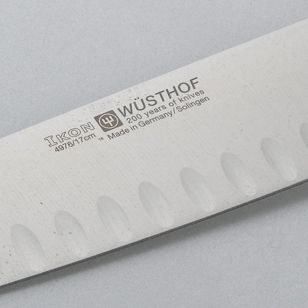 Wusthof 三叉牌 Ikon 三德刀 17cm【Casa More美學生活】