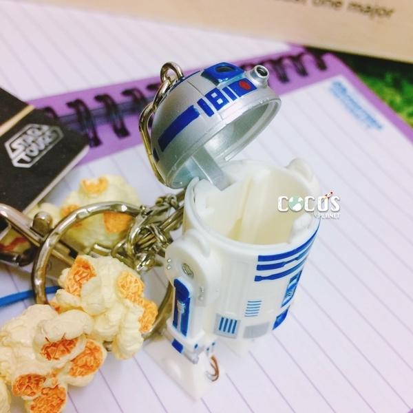 日本東京迪士尼 R2-D2 爆米花桶 鑰匙圈 掛飾 爆米花吊飾 COCOS DK415