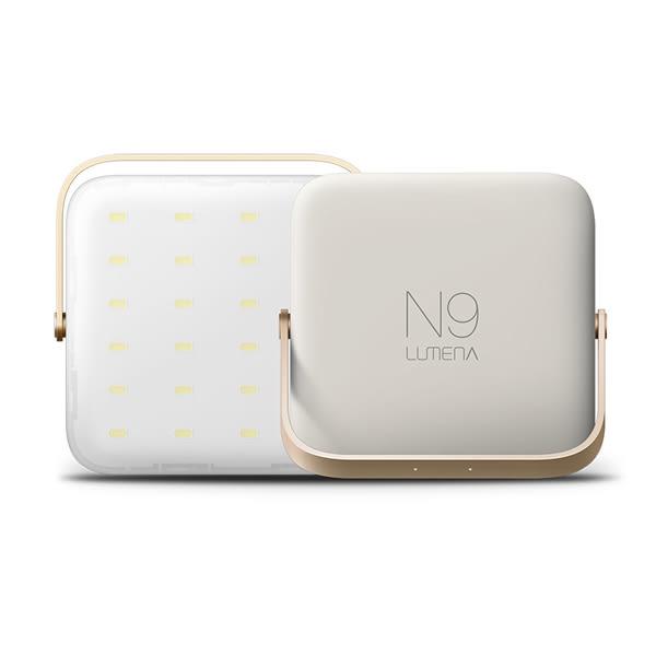 [N9] LUMENA 多功能行動電源LED照明燈-1300流明-暖黃光 (N900SY-A)