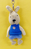 【震撼精品百貨】Gaspard et Lisa_麗莎和卡斯柏~絨毛造型吊飾-兔子#08513