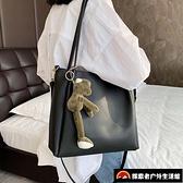 斜挎包大容量單肩包時尚托特包【探索者户外】