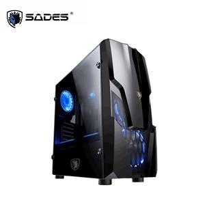 【綠蔭-免運】賽德斯SADES Robot Wolf 機械狼 透側電競機殼