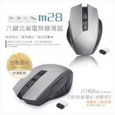 新竹【超人3C】E-books M28 六鍵式省電無線滑鼠◆解析度1000/1600 cpi 二段切換功能◆具省電裝置