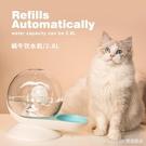 貓咪飲水機寵物蝸牛泡泡流動飲水器不插電喝水自動狗狗水盆水碗 Lanna YTL