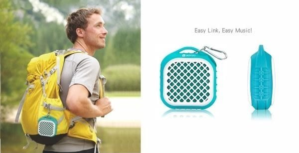 KINYO 耐嘉 BTS-672 防水藍芽喇叭/播放器/運動/可通話/藍芽音響/免持通話藍芽喇叭