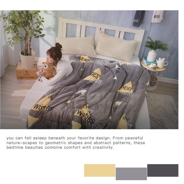 超激厚法蘭絨暖暖被 百慕達 台灣製 150x200cm 毯被 毯子 毛毯 Best寢飾