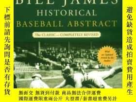 二手書博民逛書店The罕見New Bill James Historical Baseball AbstractY364682