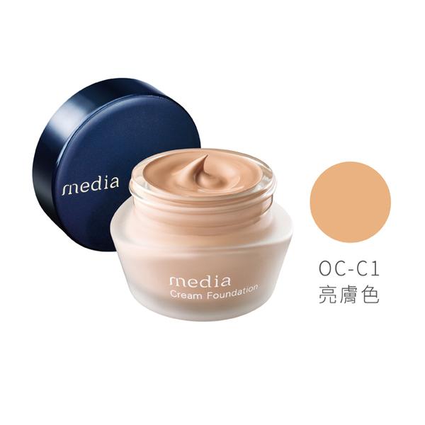 媚點 粉嫩保濕礦物粉底霜OC-C1(亮膚色) 25g