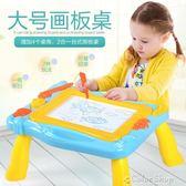 兒童畫板彩色磁性畫板幼兒童磁性寶寶寫字板嬰兒小黑板1-2-3歲涂鴉板玩具   color shop