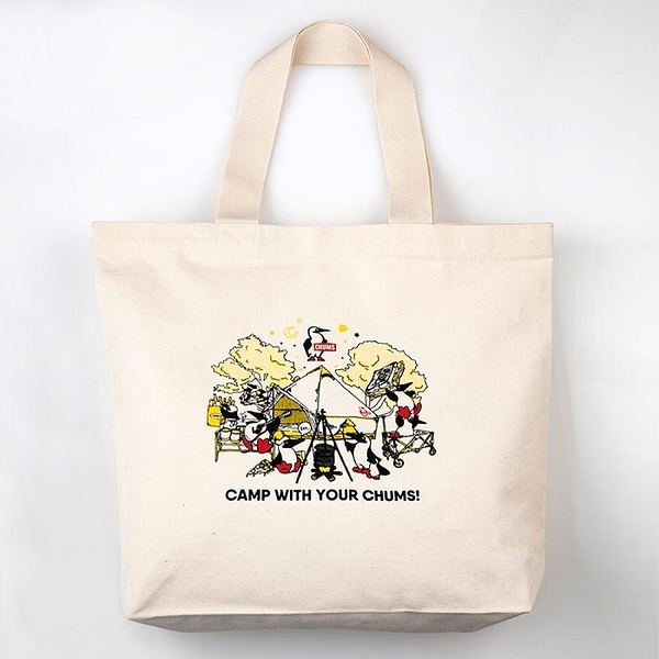 CHUMS Camp With Your CHUMS Canvas Tote 托特包 CH6029690000【GO WILD】