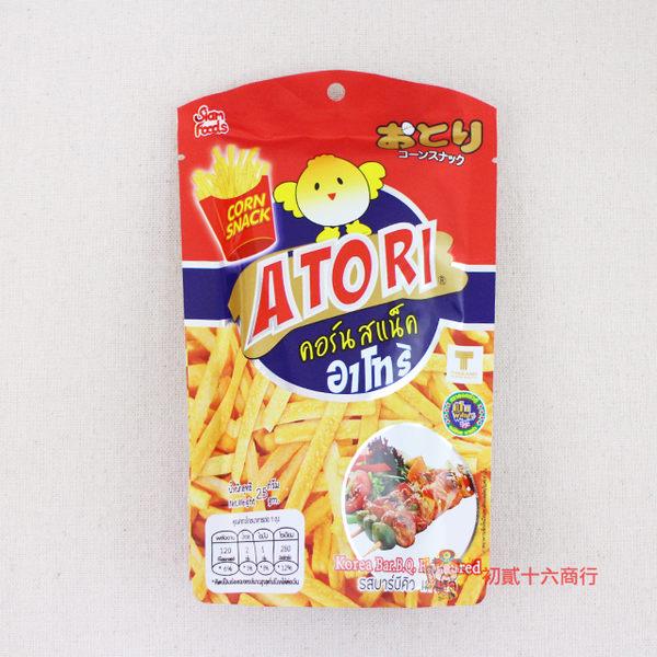 泰國零食日日旺 香脆卡拉薯條(韓式燒烤味)25g單包入【0216零食團購】8855444007113