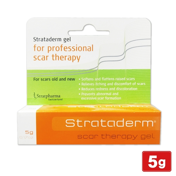 2021.01 Strataderm Scar Therapy 舒坦膚凝膠 5g 疤痕凝膠 專品藥局【2007955】