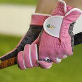FC加長高爾夫手套女士雙手防曬超纖布透氣魔術貼