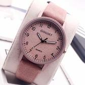 手錶女款復古防水韓版情侶一對潮流bf風簡約森系男  黛尼時尚精品