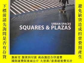 二手書博民逛書店urban罕見spaces squares & plazasY2