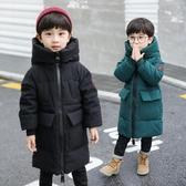 男童外套 童裝男童棉衣中長款2019新款兒童冬裝外套中大童羽絨棉服襖洋氣潮 【全館免運】
