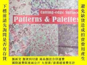 二手書博民逛書店Cutting-edge罕見Surface Patterns &