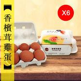 {香檳茸} 雞蛋6入裝6盒 「一顆50元的雞蛋」冠軍雞蛋 金牌雞蛋 巴西蘑菇雞蛋