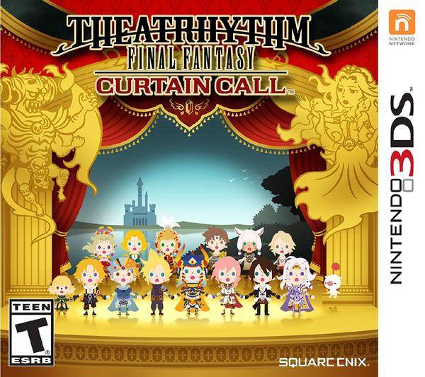 3DS Theatrhythm Final Fantasy Curtain Call Final Fantasy 節奏劇場:謝幕(美版代購)