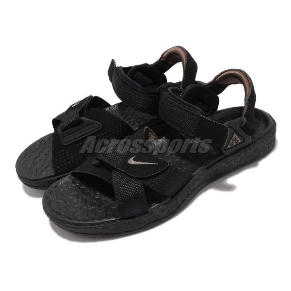 Nike 涼拖鞋 ACG Air Deschutz 涼鞋 黑 灰 魔鬼氈 戶外 男鞋 【ACS】 DC9093-001