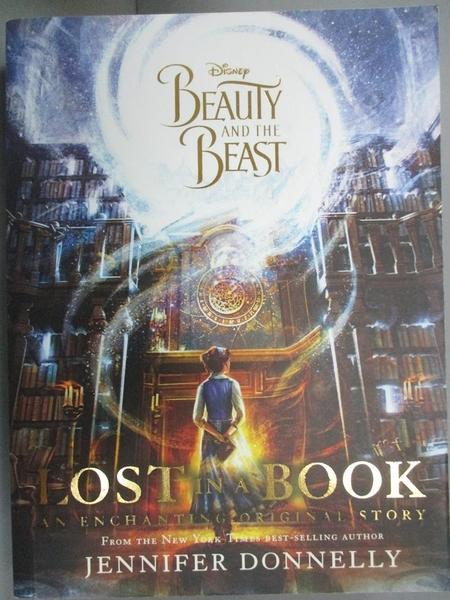【書寶二手書T4/原文小說_JMJ】Disney Beauty and the Beast Lost in a Book