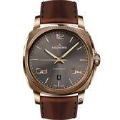 Anonimo EPURATO義式經典機械腕錶-無煙煤灰/42mm