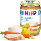 Hipp 喜寶 -天然蔬菜火雞全餐 220g x6罐 536元