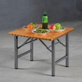 家用小戶型小飯桌方桌吃飯桌可摺疊桌子摺疊餐桌日式方形簡易四方桌HD【快速出貨】