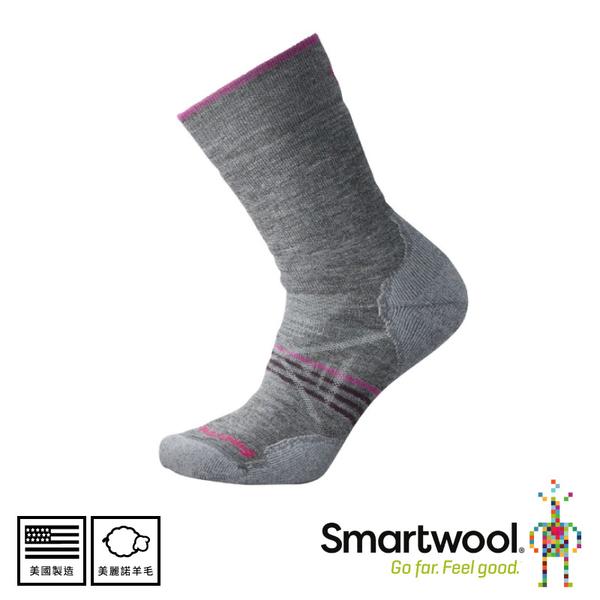 【SmartWool 美國 女 PHD戶外中級減震中長襪《中性灰》】SW001064/中長襪/女襪/登山襪/健行襪