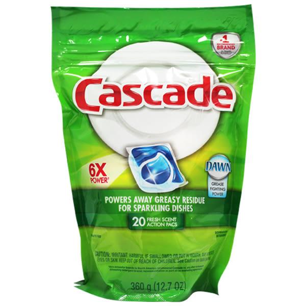 NG品!CASCADE 洗碗碇20入補充包(清新),原價$499↘特價$129.效期2020
