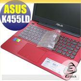 【EZstick】ASUS K455 K455LD 系列 專用奈米銀抗菌TPU鍵盤保護膜