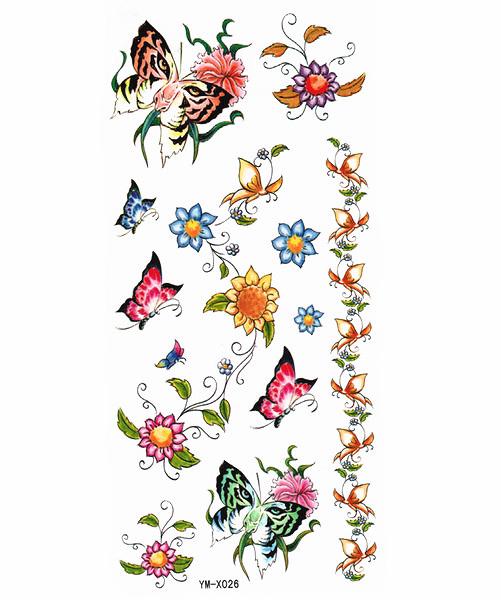 薇嘉雅        超炫圖案紋身貼紙 X026